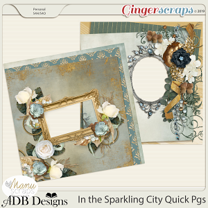 In The Sparkling City Quick Pages by ADB Designs