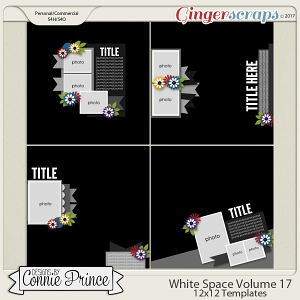 White Space Volume 17 - 12x12 Temps (CU Ok)