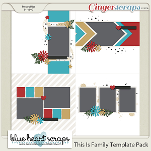 This Is Family Template Pack