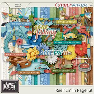 Reel Em In Page Kit by Aimee Harrison