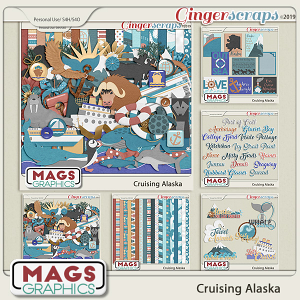 Cruising Alaska BUNDLE by MagsGraphics