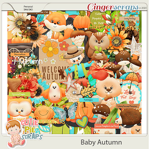 Baby Autumn-Page Kit