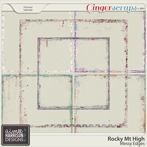Rocky Mt High Messy Edges by Aimee Harrison