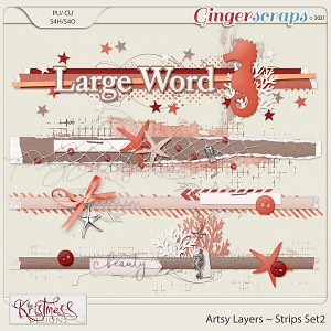 CU Artsy Layers ~ Strips Templates Set2
