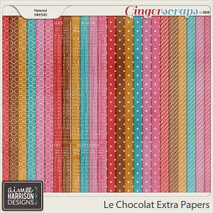 Le Chocolat Extra Papers by Aimee Harrison