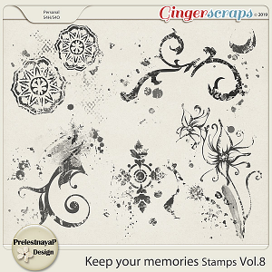 Keep your memories Stamps Vol.8