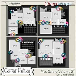 Pics Galore Volume 21 - 12x12 Temps (CU Ok) by Connie Prince