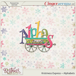 Kristmess Express Alphabets