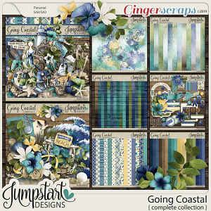 Going Coastal {Complete Collection} by Jumpstart Designs