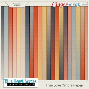 True Love Ombre Paper Pack