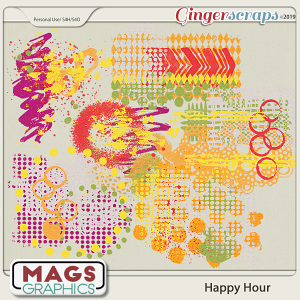 Happy Hour HODGE PODGE by MagsGraphics