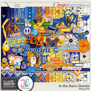 In the Stars: Gemini Mega Kit by Aimee Harrison and Just Because Studio