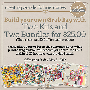 Build Your Own Grab Bag by JoCee Designs