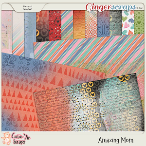Amazing Mom Messy Papers