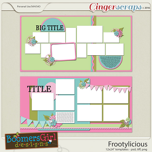 Frootylicious Template Pack by BoomersGirl Designs