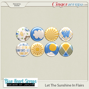 Let The Sunshine In Flairs