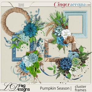 Pumpkin Season: Cluster Frames by LDragDesigns