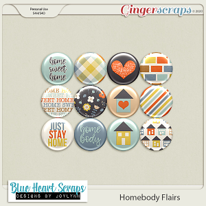Homebody Flair Pack