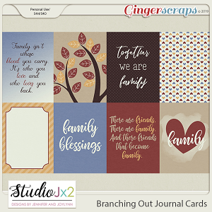 Branching Out Journal Cards
