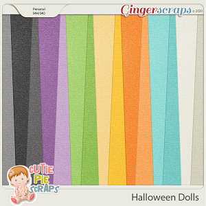 Halloween Dolls-Solid Papers