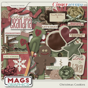 Christmas Cookies KIT by MagsGraphics