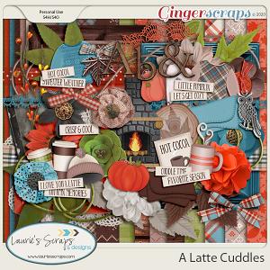 A Latte Cuddles Page Kit