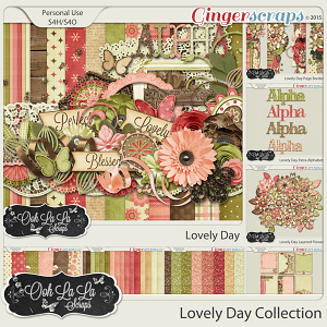 Lovely Day Digital Scrapbook Bundle