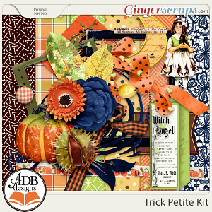 Trick and Treat Trick Petite Kit by ADB Designs