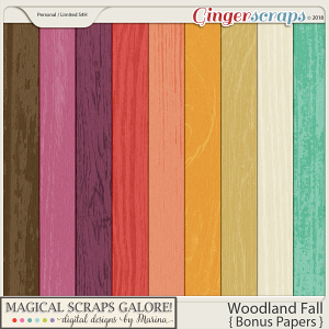 Woodland Fall (bonus papers)