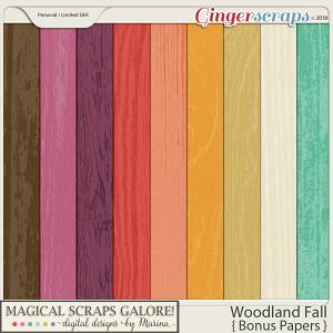 Woodland Fall (bonus papers)