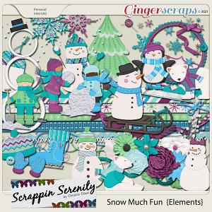 Snow Much Fun Elements