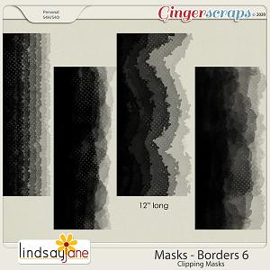 Masks Borders 6 by Lindsay Jane