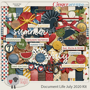 Document Life July 2020 Kit by Luv Ewe Designs