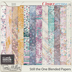 Still the One Blended Papers by Aimee Harrison and Tami Miller