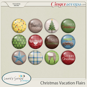 Christmas Vacation Flairs