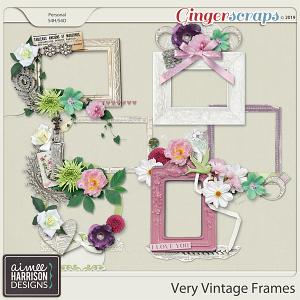 Very Vintage Frame Clusters by Aimee Harrison