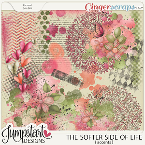 The Softer Side of Life {Accents} by Jumpstart Designs