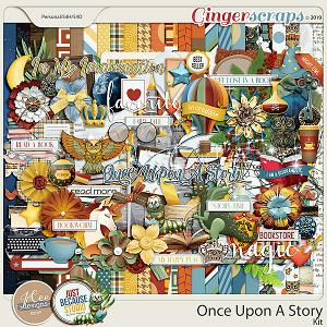 Once Upon A Story Collab - Page Kit by JB Studio and Jocee Designs