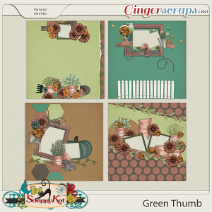 Green Thumb Quick Pages by The Scrappy Kat