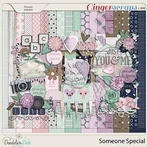 Someone Special Digital Scrapbook Kit by Dandelion Dust Designs