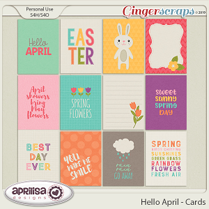 Hello April - Cards