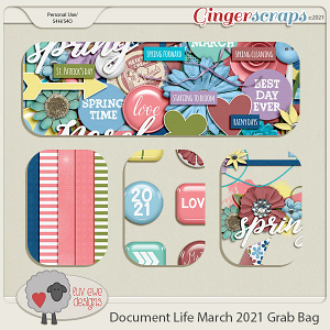 Document Life March 2021 Grab Bag by Luv Ewe Designs