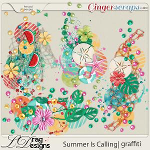 Summer Is Calling: Graffiti by LDragDesigns