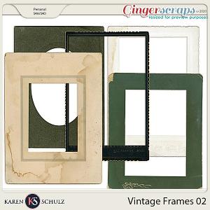 Vintage Frames 02 by Karen Schulz
