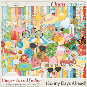 GingerBread Ladies Collab: Sunny Days Ahead