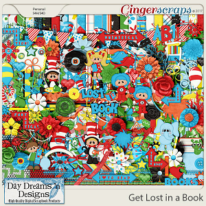 Get Lost in a Book {Kit} by Day Dreams 'n Designs