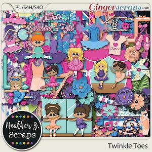 Twinkle Toes KIT by Heather Z Scraps