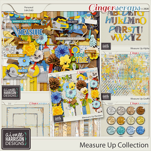 Measure Up Collection by Aimee Harrison