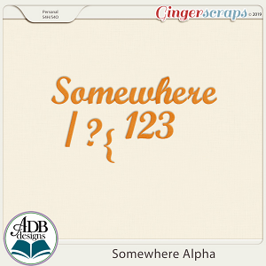 Somewhere Alphas by ADB Designs