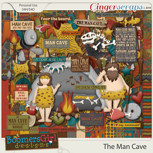 The Man Cave by BoomersGirl Designs